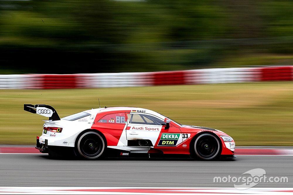 Rast leads Glock as Nurburgring DTM test ends