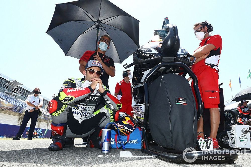 El tren de Ducati se complica para Zarco tras su debut en Jerez