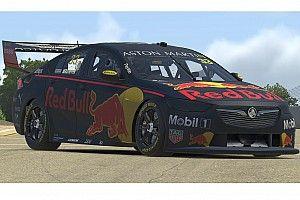 Ezzel az autóval versenyez Verstappen szerdán a többi sztár ellen a Supercars All-Stars Eseriesben