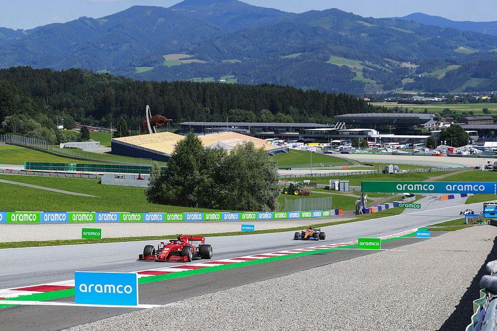 إمكانية إلغاء تصفيات سباق جائزة النمسا الكبرى الثاني