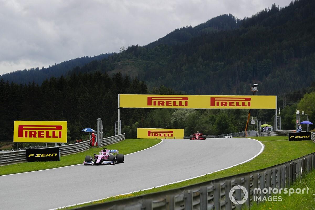 Austria - Libres 2: Mercedes domina y Racing Point asusta