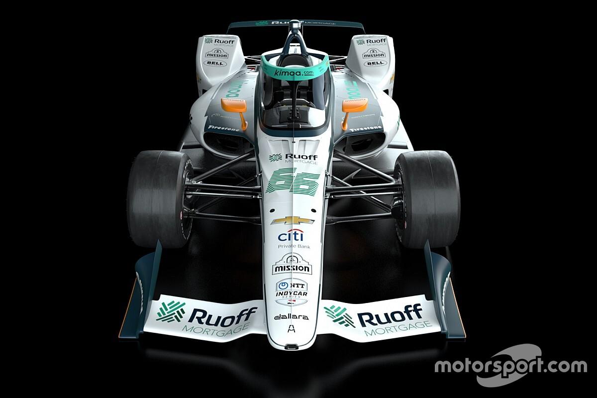 A McLaren bemutatta Alonso különleges Indy 500-as festését