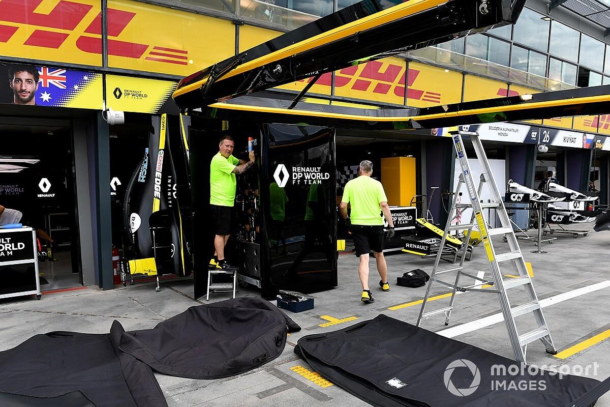 Renault F1 quiere imponer un control salarial a los pilotos