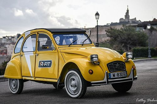 Quand la Citroën 2CV devient électrique