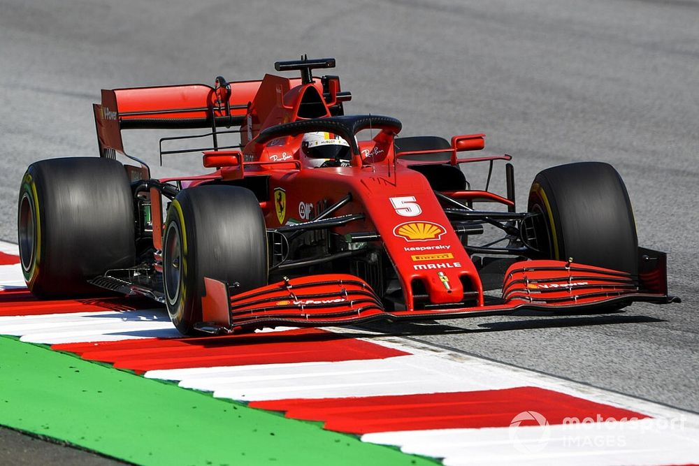 """Vettel says SF1000 feels like a """"different car"""" after updates"""