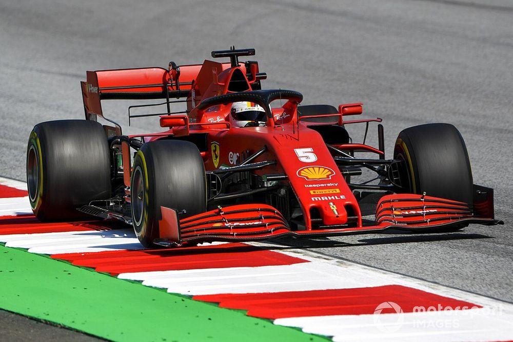 """Vettel: """"El Ferrari es otro coche tras las actualizaciones"""""""