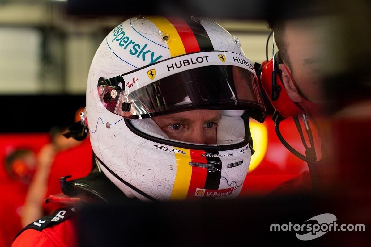 """Vettel: """"Non mi aspettavo che Leclerc ci provasse lì"""""""