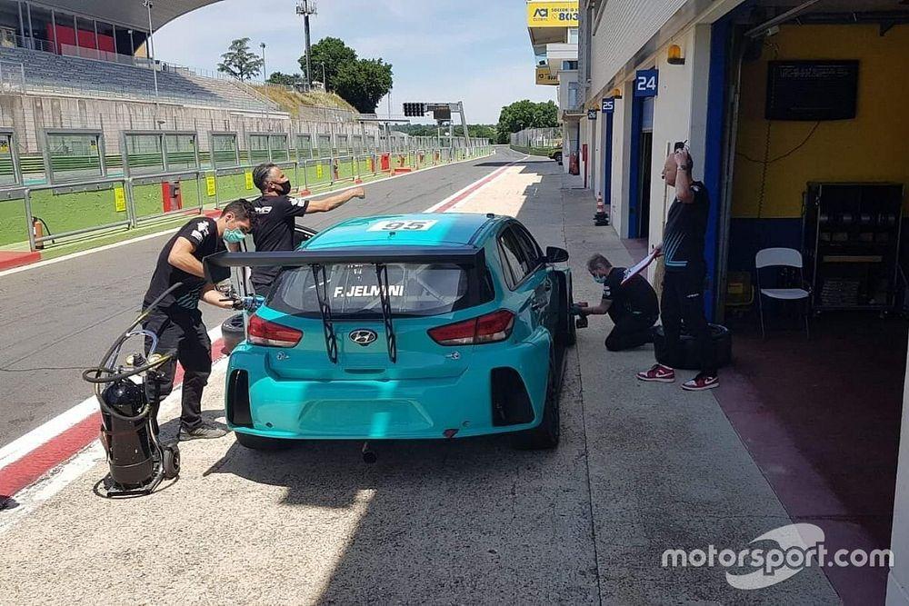 TCR Italy: Jelmini contento del test con la Hyundai a Vallelunga