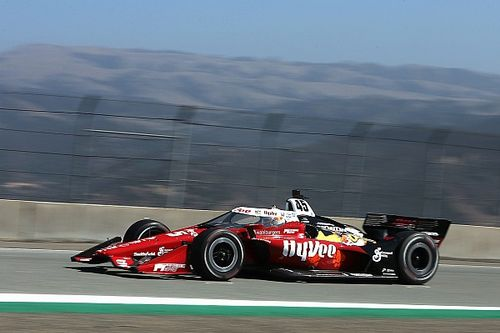 Askew stars for RLL in Laguna Seca qualifying