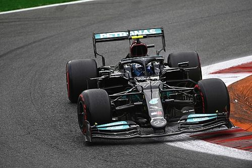 F1: Primeiro na corrida sprint, Bottas comemora resultado apesar de penalidade