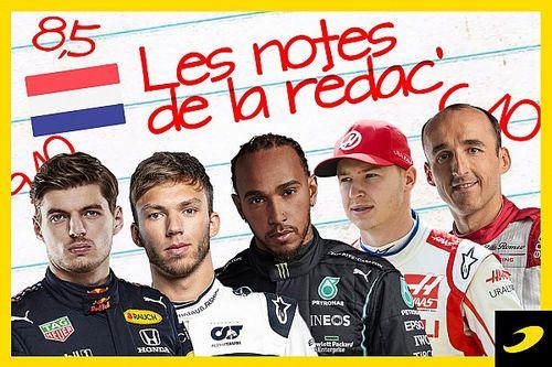 Les notes du Grand Prix des Pays-Bas 2021