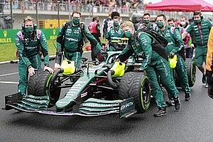Aston Martin: Megbíztunk Vettel döntésében, a dobogón végezhettünk volna