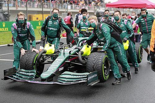 ¿Qué llevó a Vettel a montar neumáticos lisos en Turquía?