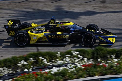 Long Beach IndyCar: Herta sets the pace again in second practice