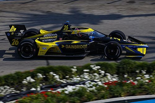 Long Beach IndyCar: Herta tops practice again, beats Penskes