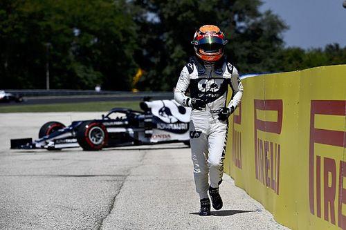 Tsunoda: AlphaTauri F1 car felt 'really nervous' before FP1 crash