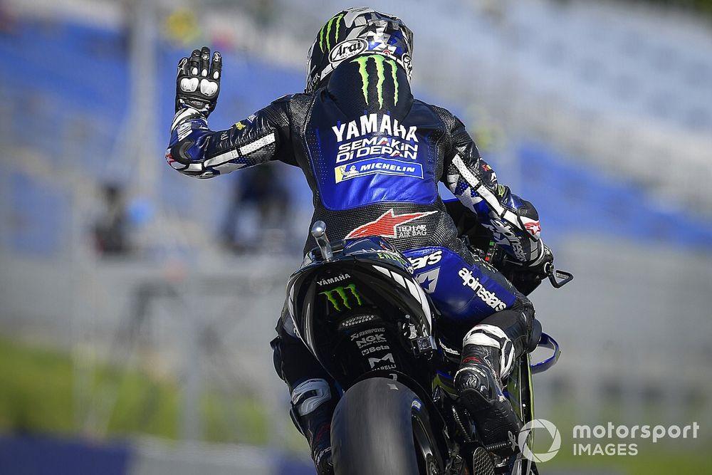 Yamaha laat Viñales niet terugkeren tijdens Britse MotoGP-race