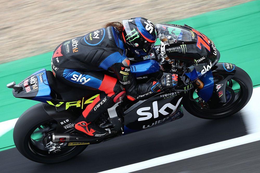 Hasil Kualifikasi Moto2 Inggris: Marco Bezzecchi Torehkan Rekor Lap