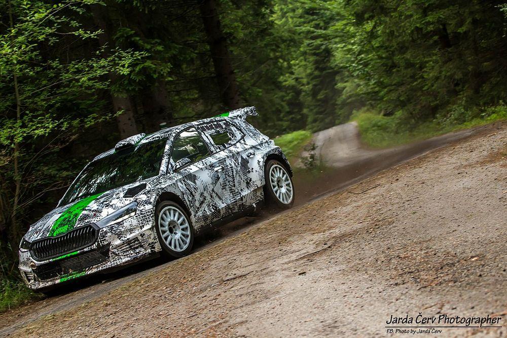 Nowa Fabia Rally2 w akcji