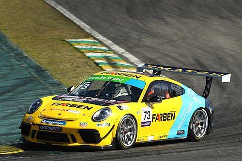 """Porsche Cup: 2º, Enzo Elias vê melhora, mas ainda revela que """"há muito o que fazer"""""""