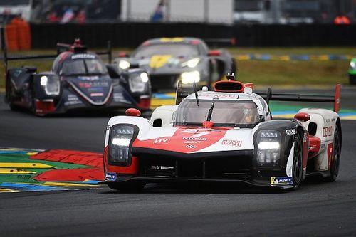 ル・マン24時間:4時間経過し、トヨタ7号車が首位キープ。序盤にスピンの8号車は猛烈リカバリーで2番手