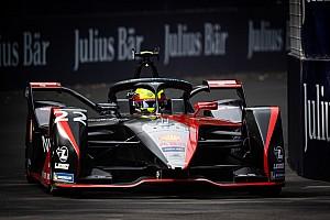 Santiago E-Prix, Libere 2: Rowland svetta prima della bandiera rossa
