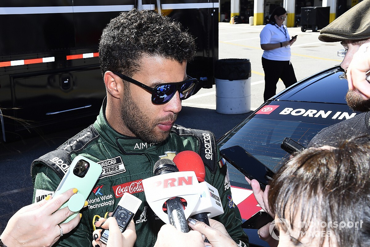 Bubba Wallace wants more NASCAR stars to speak out