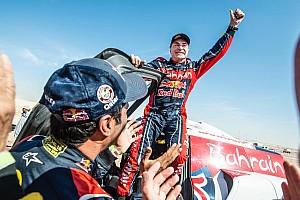 Autos, étape 12 - Sainz triomphe une troisième fois sur le Dakar!