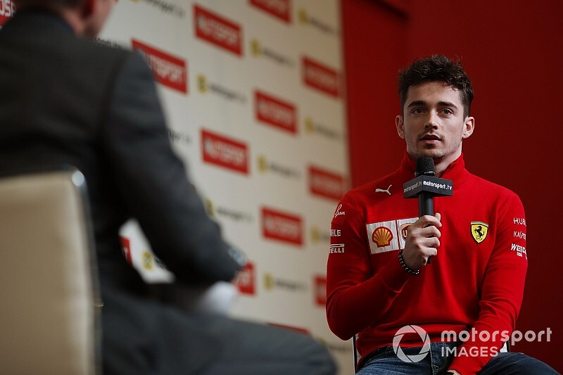 Leclerc: Senna es el único piloto que admiro