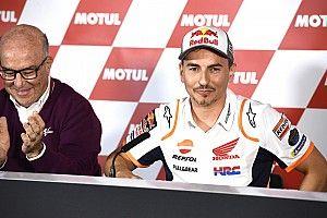 Lorenzo'nun Valencia'daki emeklilik konuşması