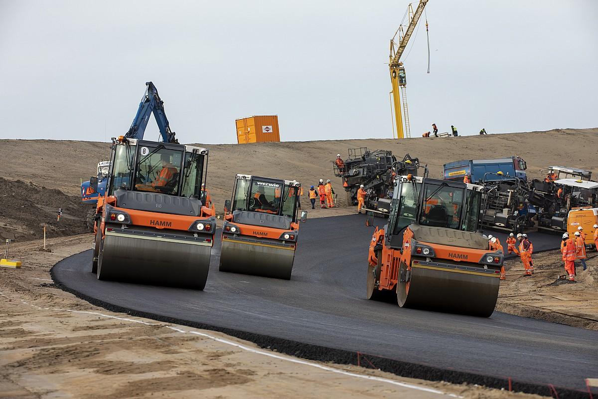 VIDEO: Vernieuwd Circuit Zandvoort krijgt steeds meer vorm