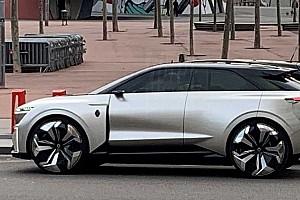 В Испании заметили неизвестный концепт Renault