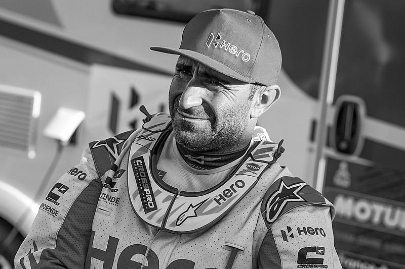 Portugese motorcoureur Goncalves overleden tijdens Dakar Rally