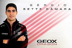 Fórmula E: Sette Câmara vira piloto de testes e reserva na Dragon