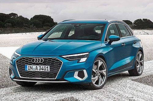 2020 Audi A3 Sportback sonunda yüzünü gösterdi