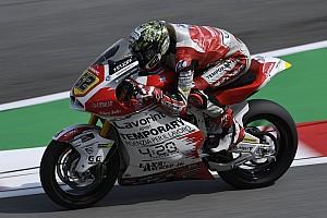 Moto2, Valencia, Libere 1: Manzi vola e va al comando