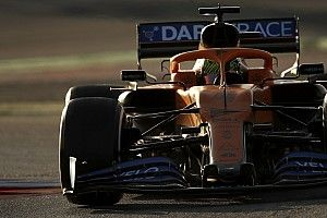 "Norris says 2020 McLaren is ""less on edge"""