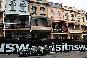 Newcastle Supercars: Waters beats Whincup to provisional pole