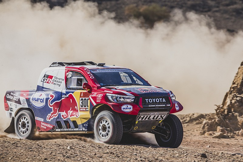 Al-Attiyah mystified by repeat Toyota puncture woes