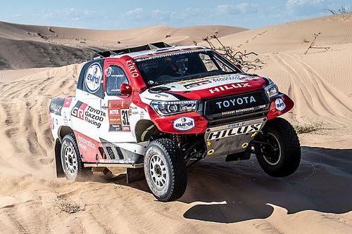 Dakar: Alonso diz que não sabe no que bateu em acidente