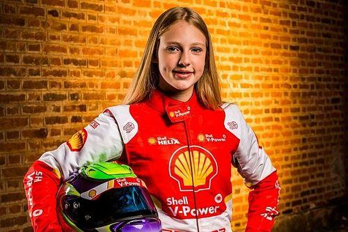 Promessa do automobilismo feminino brasileiro foi aluna de Tuka Rocha e tem Leclerc como ídolo