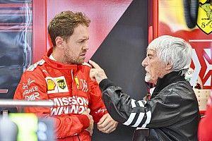 Ecclestone: Vettel quiere ir a Mercedes contra Hamilton