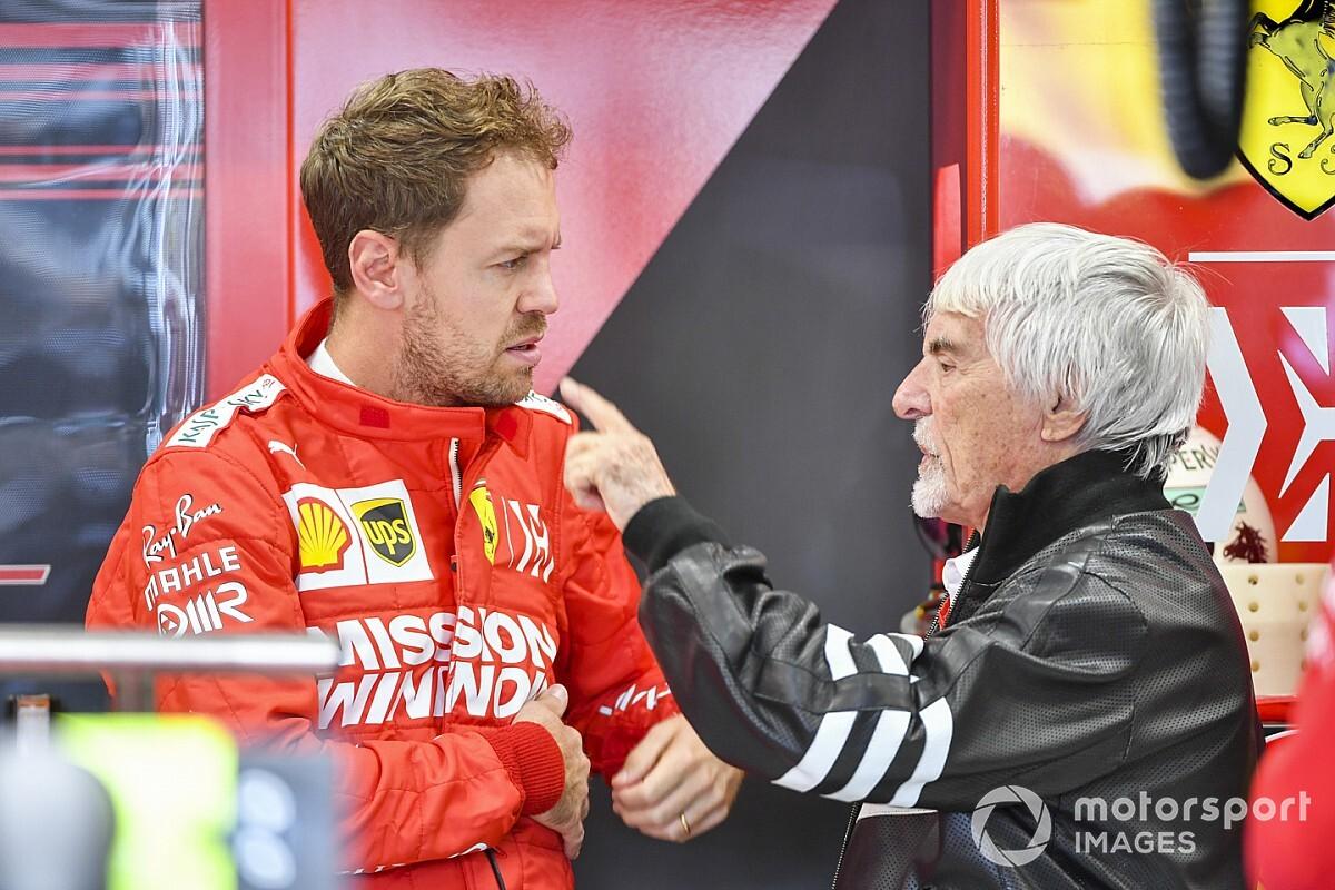 """Ecclestone: """"Vettel, 2021'de yarışmamalı"""""""