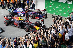 Brazilian GP: Verstappen wins from Gasly after crazy finish