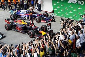 Verstappen gana un intenso GP de Brasil