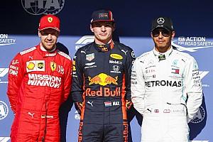 La grille de départ du GP du Brésil