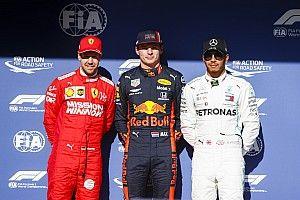 La parrilla de salida del GP de Brasil de F1