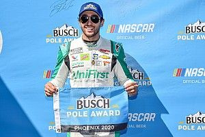 Chase Elliott tops Kevin Harvick for Cup pole at Phoenix