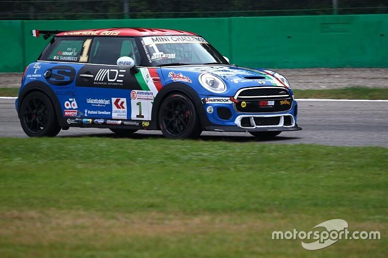 MINI Challenge, Monza: pole per uno scatenato Sandrucci