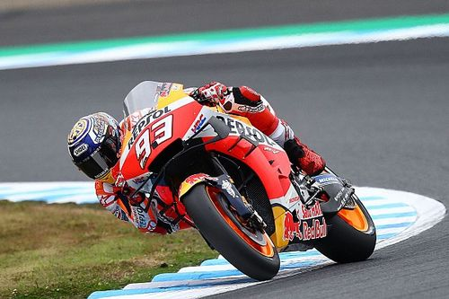 Motegi MotoGP: Marquez leads Quartararo in warm-up